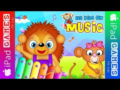 Best iPad Games for Kids  123 Kids Fun Music    iPadGamesforKids