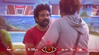 Captaincy task takes a serious turn!!!  #BiggBossTelugu Today at 9:30 PM