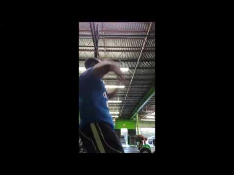 Cameron Williams - CrossFit Open 17.3