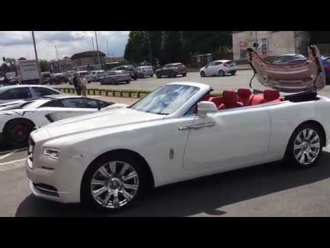 Taking Delivery of a Rolls Royce Dawn - Lord Aleem