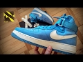 Презентация Nike Air Force 1 High Retro QS University Blue | Styles