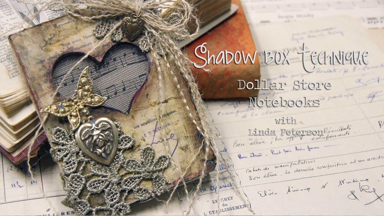 Mixed Media Monday - Shadow box Notebooks! Easy Dollar ...