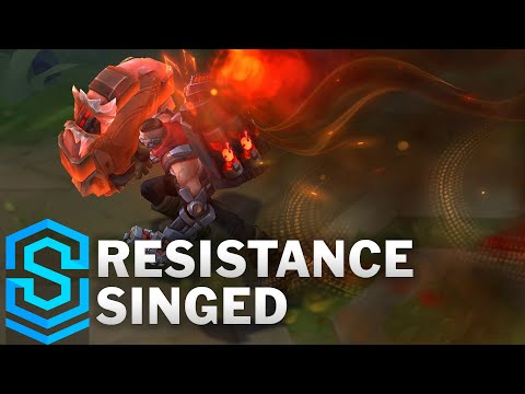 Resistance Singed Skin Spotlight - Pre-Release - League of Legends