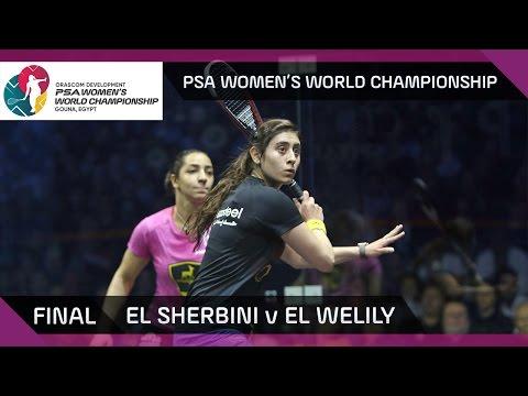 Squash: El Sherbini v El Welily - PSA Women\'s World Championship Final Highlights