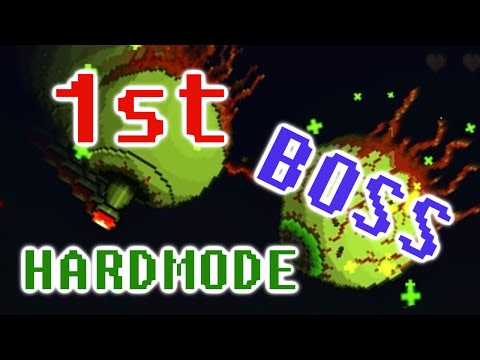 HOW TO SOLO THE 1ST HARDMODE BOSS: THE TWINS (Terraria 1.2.4.1)
