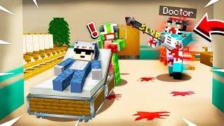 KILLER DOCTOR CHASE IN ABANDONED HOSPITAL!