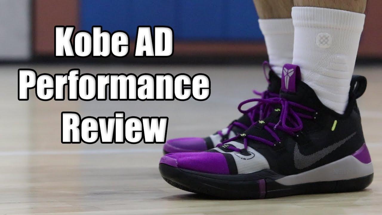 huge discount 130fb 9a638 Nike Kobe AD Exodus Performance Review
