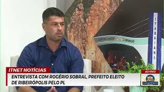 VANDALISMO com estátua de CHIARA LUBICH | Entrevista: ROGÉRIO SOBRAL prefeito eleito de Ribeirópolis