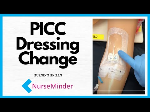 PICC Dressing Change (peripherally Inserted Central Catheter) For Nurses