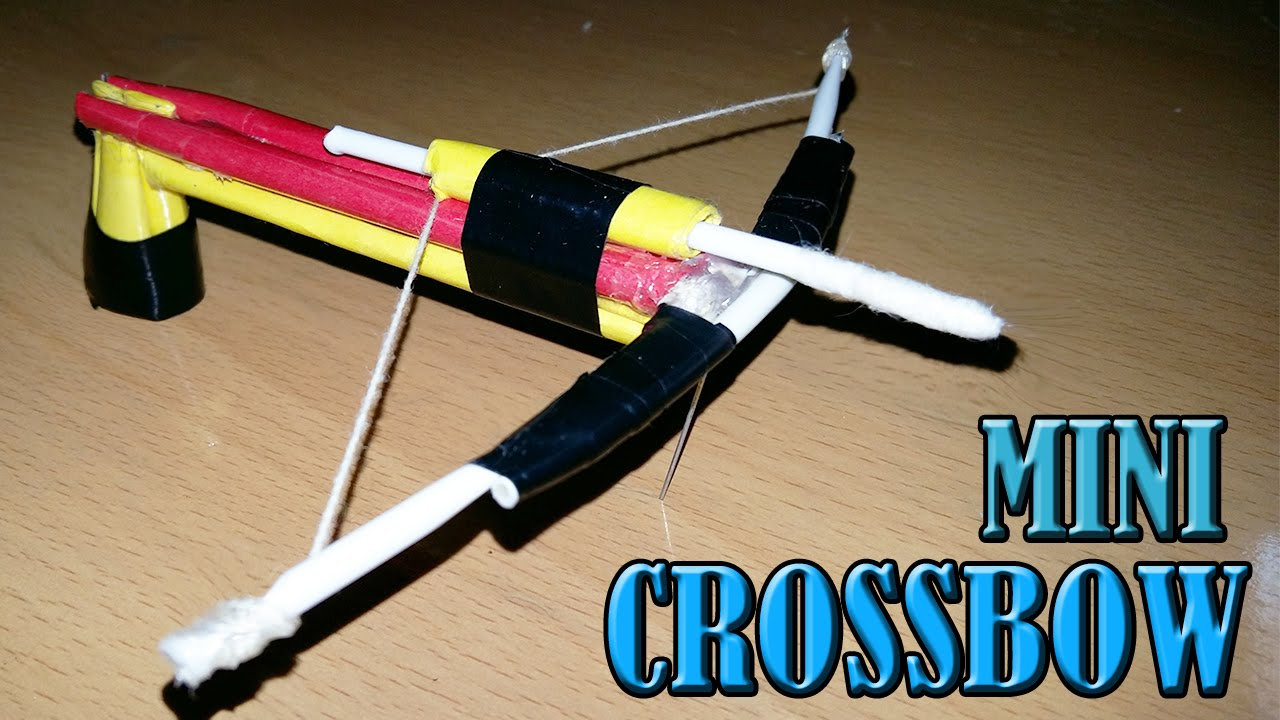 How To Make A Crossbow Of Paper