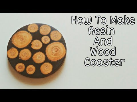 How To Make Coaster From Epoxy Resin And Wood | Resin Coaster |Resin Craft
