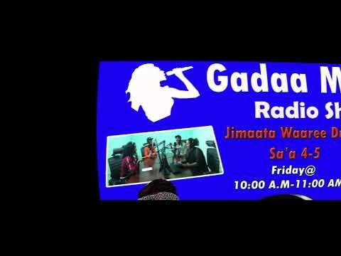 Gadaa Music 81 Radio show