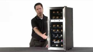 Edgestar 21 Bottle Dual Zone Wine Refrigerator