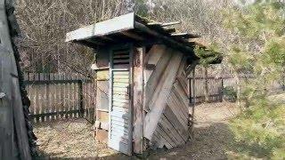 Газон на крыше туалета(Всем привет первое видео. Газон на крыше туалета., 2016-04-18T13:50:59.000Z)