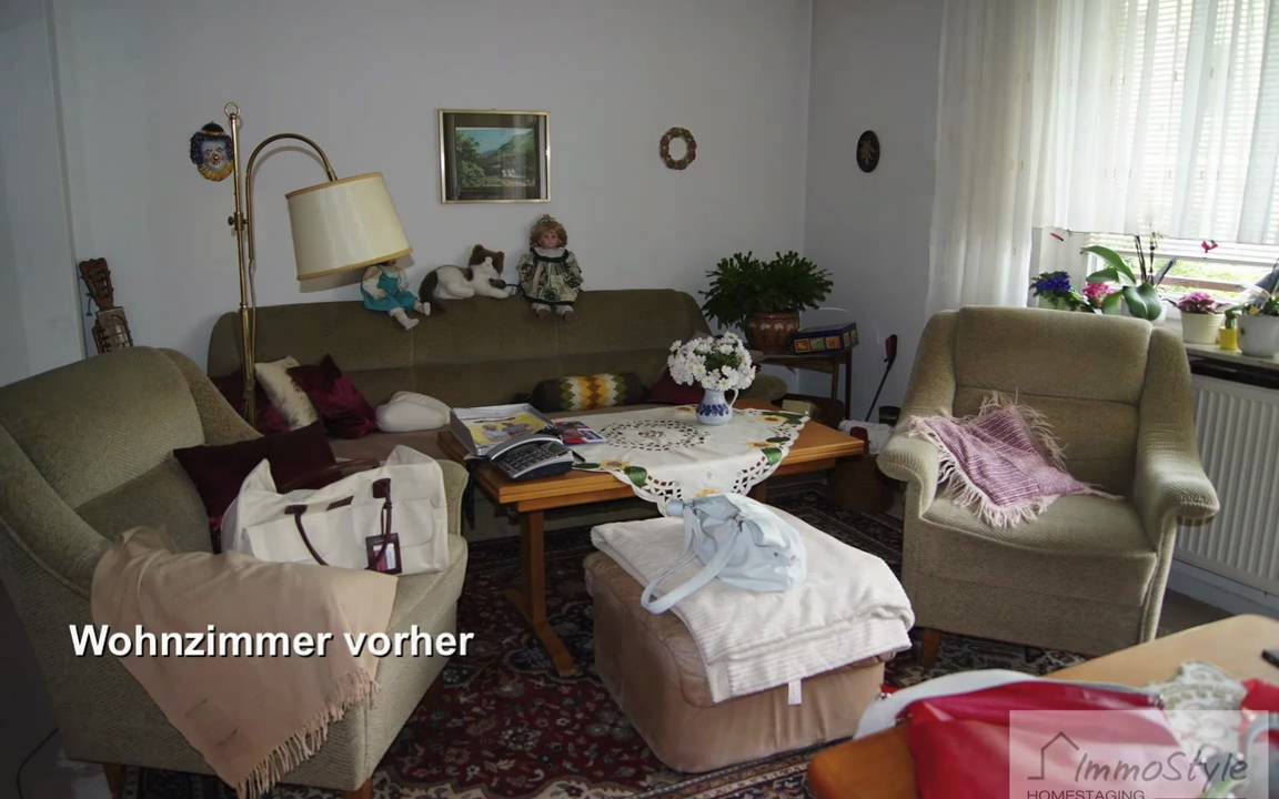 immostyle homestaging beispiele youtube. Black Bedroom Furniture Sets. Home Design Ideas