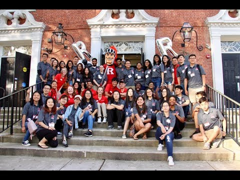 Rutgers International Student Orientation 2017 Volunteers