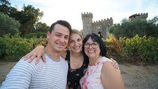 On bois dans un CHÂTEAU !! - Castello di Amorosa, Napa Valley
