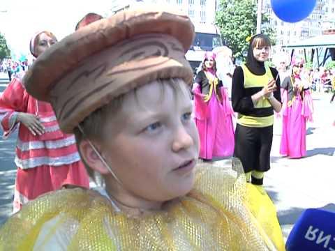 Татары, башкиры, армяне - колонна народностей Пермского края