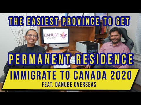 Ep. 3B - Q&A Canada Immigration 2020 feat. Danube Overseas | THE EASIEST WAY FOR PERMANENT RESIDENCE