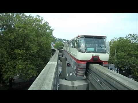 Seattle Monorail Full Ride from Wesetlake to Seattle Center through EMP