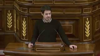 Segundo González en el debate sobre el Real Decreto-ley 27/2018, de 28 de diciembre.