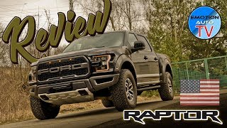 FORD RAPTOR 3.5 V6 2018 - Test / Review / Fahrbericht / Deutsch!