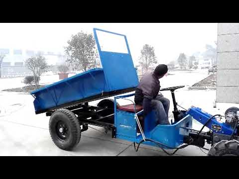 18CY 18HP Side steering wheel transport tractor