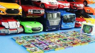 헬로카봇 장난감 16대 카봇시계 카봇팩 32개 펜타스톰 로드세이버 합체 변신 동영상 Transformation car toys