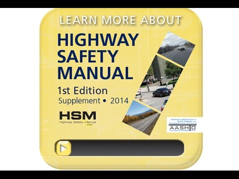 Highway Safety Manual Supplement - YouTube