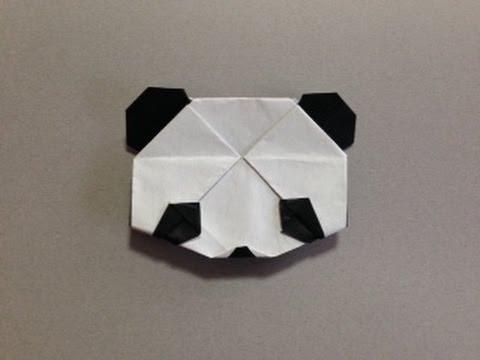 簡単 折り紙 折り紙パンダの折り方 : youtube.com