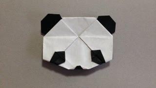 簡単 おりがみ パンダ origami panda