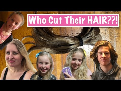 Who Had ALL Their Hair Cut Off?? | Australian Family Vlog