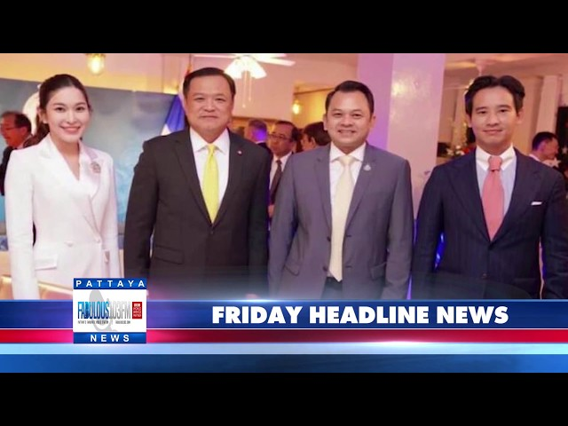 FABULOUS 103FM HEADLINE NEWS from Thailand & Pattaya   10th July 2020
