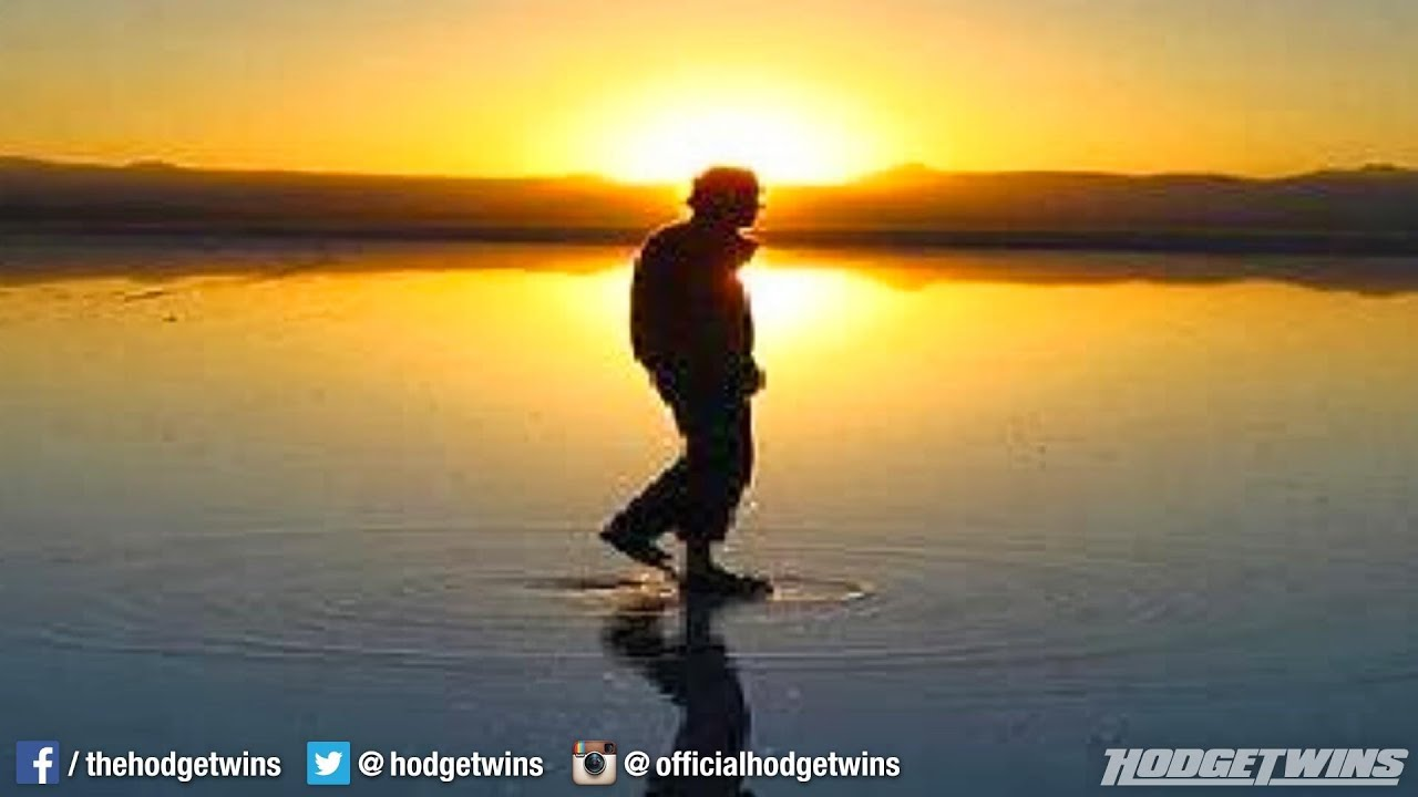 Man Tries To Walk on Water Like Jesus @hodgetwins - YouTube