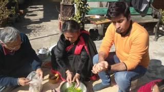 How to make Gundruk? What is Gundruk?  Travel With Kunal  Kunal Kapur