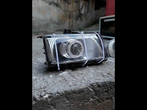 PLEKSİ'DEN FAR CAMI YAPIMI(dıy Plexi Glass Headlight)