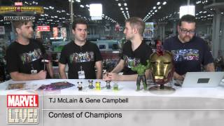 Marvel Contest of Champions Creators TJ Mclain and Gene Campbell on Marvel LIVE!