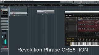 Revolution-CRE8 Phrase CRE8TION