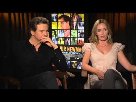 Arthur Newman Interviews - Colin Firth and Emily Blunt!