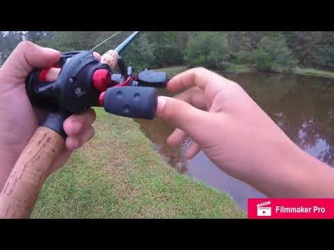 Bass fishing a 12 inch worm