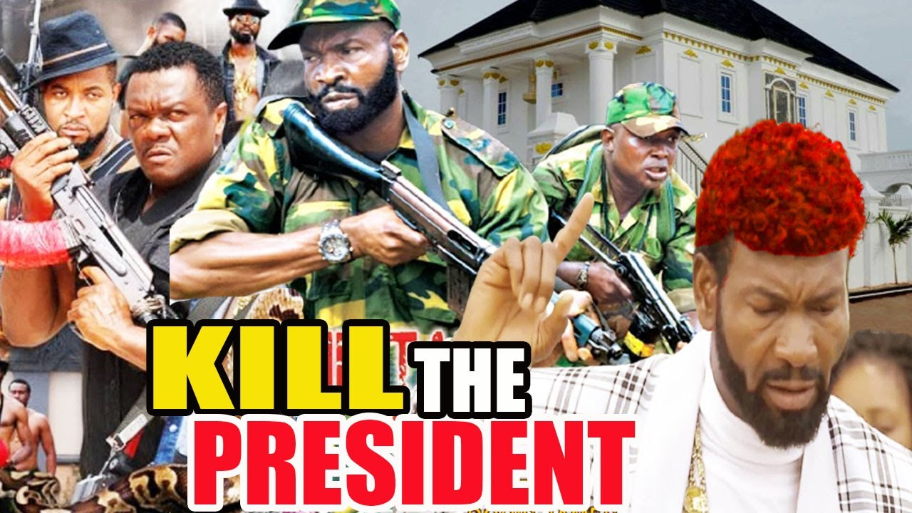 Download Kill The President (NEW ACTION MOVIE) - 2021 SYLVESTER MADU LATEST Nigerian NOLLYWOOD ACTION MOVIE