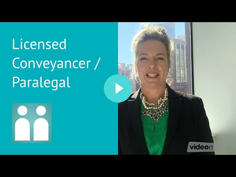 Licensed Conveyancer / Paralegal