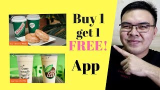 Best Android and Ios Apps - buy 1 take 1 Gongcha Krispy Kreme Infinitea Maxs Sbarro + MORE!