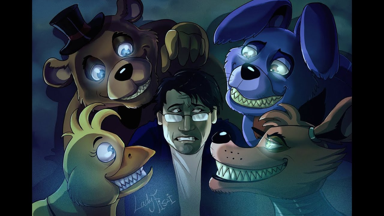 [FNAF Remix] SharaX - Break My Mind - YouTube Markiplier Fnaf