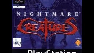 Nightmare Creatures ( Playstation / PSX / PS1 ) - Let