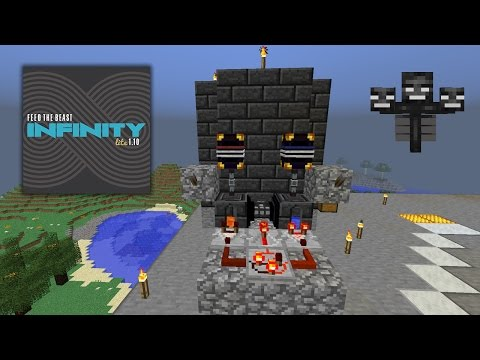 [PT-BR] Minecraft - FTB Infinity Lite 1.10 #13 - FARM WITHER BOSS