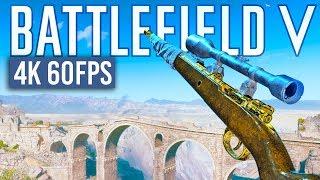 SNIPING in 4K 60FPS Battlefield 5 RTX 2080Ti