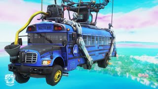 THE LAST FLIGHT OF THE BATTLE BUS... *SEASON X* (A Fortnite Short Film)