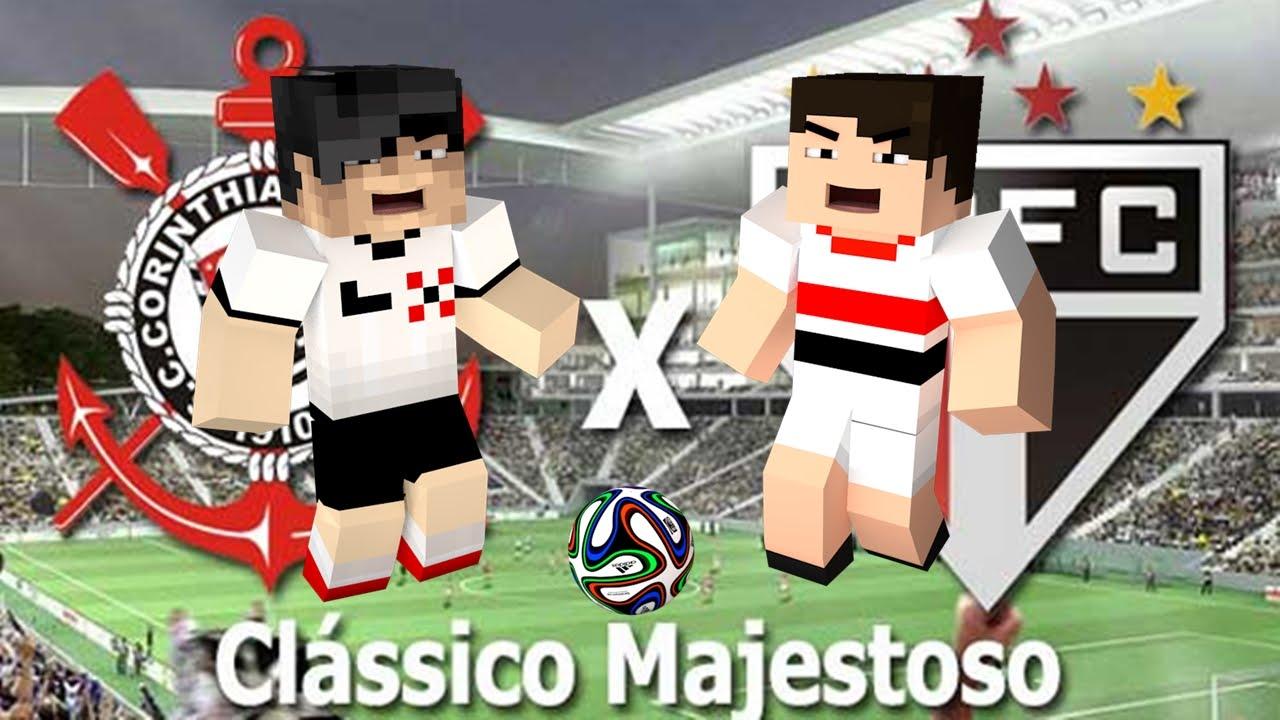 Minecraft - Corinthians x São Paulo ! - YouTube