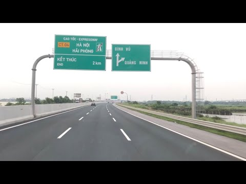 Cầu Bặch Đằng Kết nối Hải Phòng và Quảng Ninh, ngày 03.10.2018